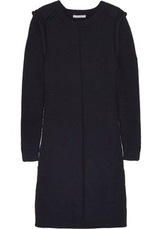 Chloé Ribbed wool-blend sweater dress