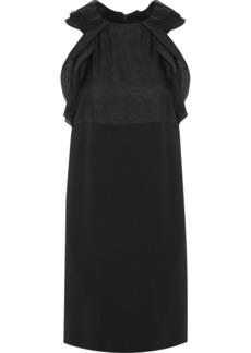 Chloé Ruffled silk-blend organza and crepe dress