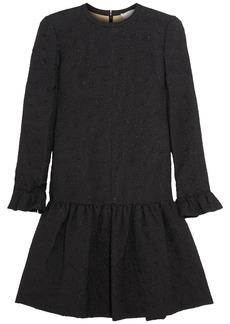 Chloé Silk-blend matelassé dress