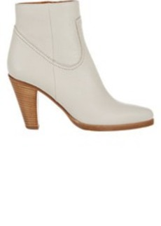 Chloé Stacked-Heel Ankle Boots