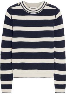 Chloé Striped wool-blend sweater