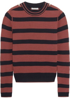Chloé Striped wool-blend sweater
