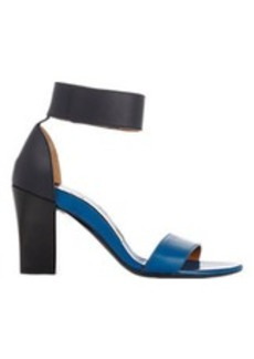 Chloé Two-Tone Ankle-Strap Sandals