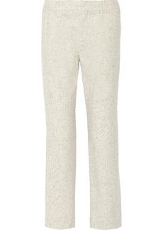 Chloé Wool-blend straight-leg pants
