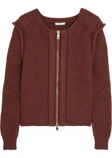 Chloé Wool, silk and cashmere-blend cardigan
