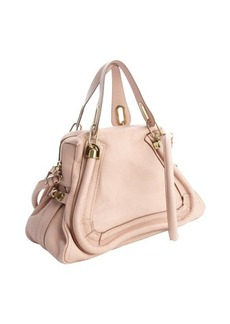 Chloe anemone pink leather 'Paraty' convertible satchel