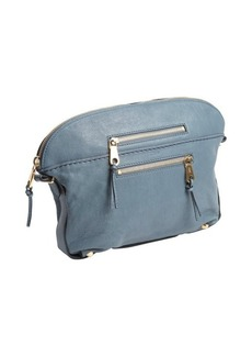 Chloe atlantic blue leather two pocket pouch