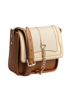 Chloe beige calfskin 'Audrey' small crossbody bag
