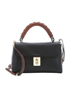 Chloe black calfskin 'Fedora' small convertible top handle bag