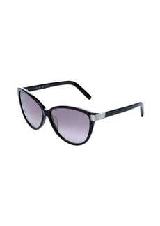 Chloe black cat eye 59mm sunglasses