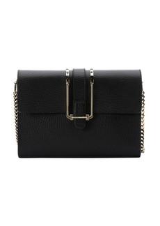 Chloe black leather 'Bronte' shoulder bag