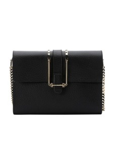 Chloe black leather 'Bronte' shoulder bag