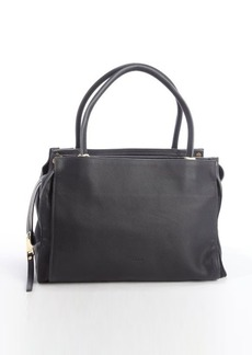 Chloe black leather 'Dree' top handle bag