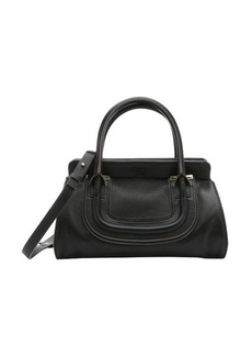 Chloe black leather 'Everston' convertible doctor bag