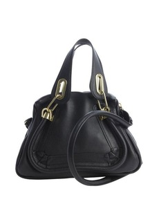 Chloe black leather 'Paraty' small convertible bag