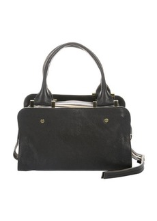 Chloe black leather triple top zip 'Dalston Trunk' bag