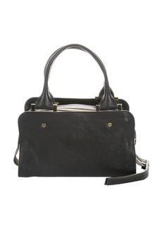 Chloe black leather triple top zip 'Dalston Trunk' bag