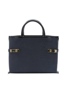 Chloe blue leather 'Charlotte' medium tote