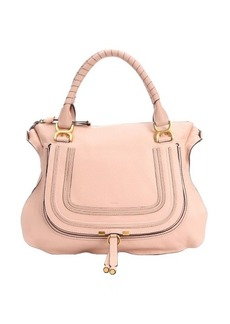 Chloe blush nude leather large 'Marcie' tote bag