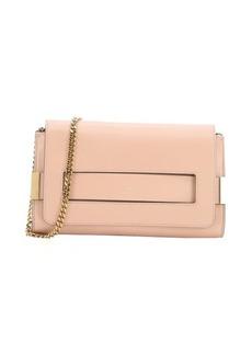 Chloe blush nude leather medium 'Elle' convertible shoulder bag
