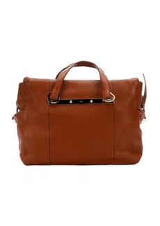 Chloe brown leather 'Bridget' convertible tote