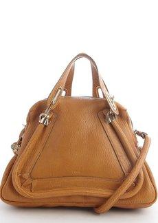 Chloe brown leather 'Paraty' convertible top handle satchel