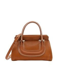 Chloe hazel brown leather 'Everston' convertible doctor bag