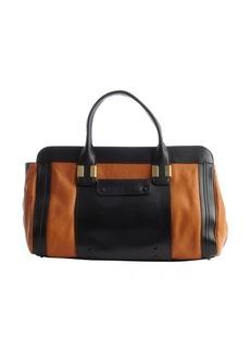 Chloe marron glace leather 'Alice' large bag