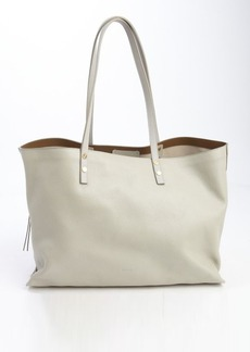 Chloe marshmellow leather side zip shopping tote