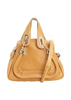 Chloe orange leather 'Paraty' small convertible top handle bag