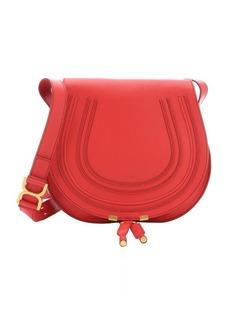 Chloe plaid red leather 'Marcie' medium crossbody bag