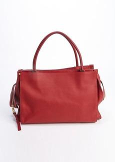 Chloe red leather top handle 'Drew' tote bag
