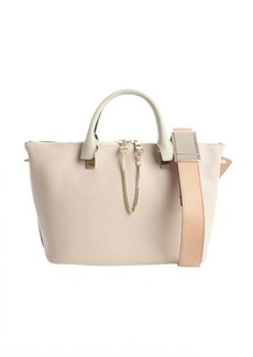 Chloe rope and beige leather 'Baylee' convertible tote