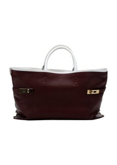 Chloe ruby sun leather 'Charlotte' large tote bag