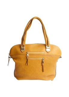 Chloe safari brown leather top handle 'Angie' tote