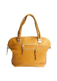 Chloe safari brown leather top handle 'Angie' tote