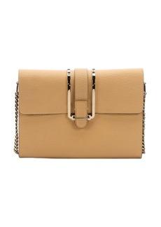 Chloe sand shell leather 'Bronte' shoulder bag