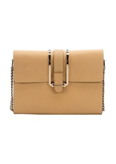 Chloe sand shell leather 'Bronte' shoulder bag