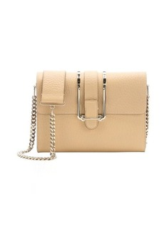Chloe sand shell leather 'Bronte' small shoulder bag