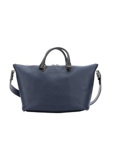 Chloe street blue and navy leather 'Baylee' convertible tote