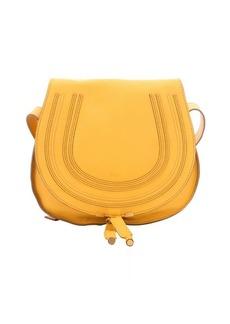 Chloe sunray leather 'Marcie' medium saddle bag