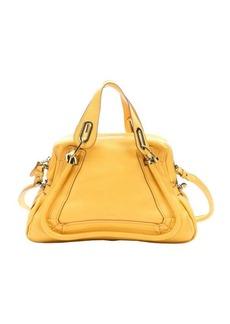 Chloe sunray leather 'Paraty' medium convertible satchel