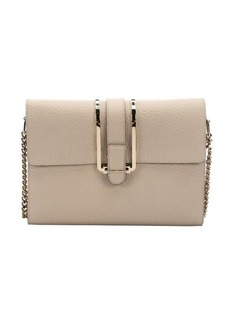 Chloe twilight grey leather 'Bronte' shoulder bag