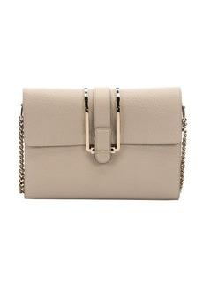 Chloe twilight grey leather 'Bronte' shoulder bag