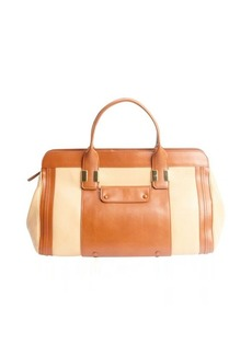 Chloe wet sand leather 'Alice' top handle bag
