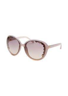 Chloe Women's Butterfly Pearl Sunglasses