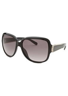 Chloe Women's Large Square Black Sunglasses