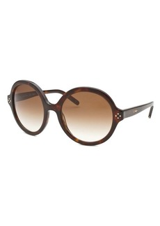 Chloe Women's Round Tortoise Sunglasses