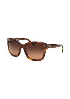 Chloe Women's Square Tortoise Sunglasses