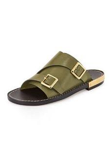 Double-Monk Slide Sandal   Double-Monk Slide Sandal